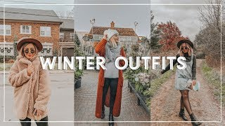 COLD WEATHER OUTFITS 2018  | cold weather lookbook