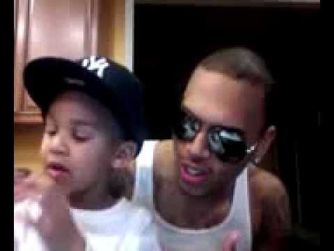 Pictures Of Chris Brown Little Brother Rock Cafe