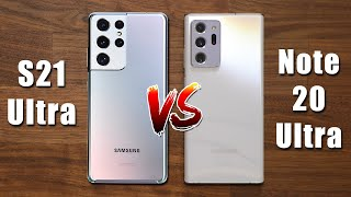 Galaxy S21 Ultra vs Galaxy Note 20 Ultra - Should You Upgrade?