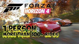 🔴Forza Horizon 4 Starting the journey with more than 100+ rides