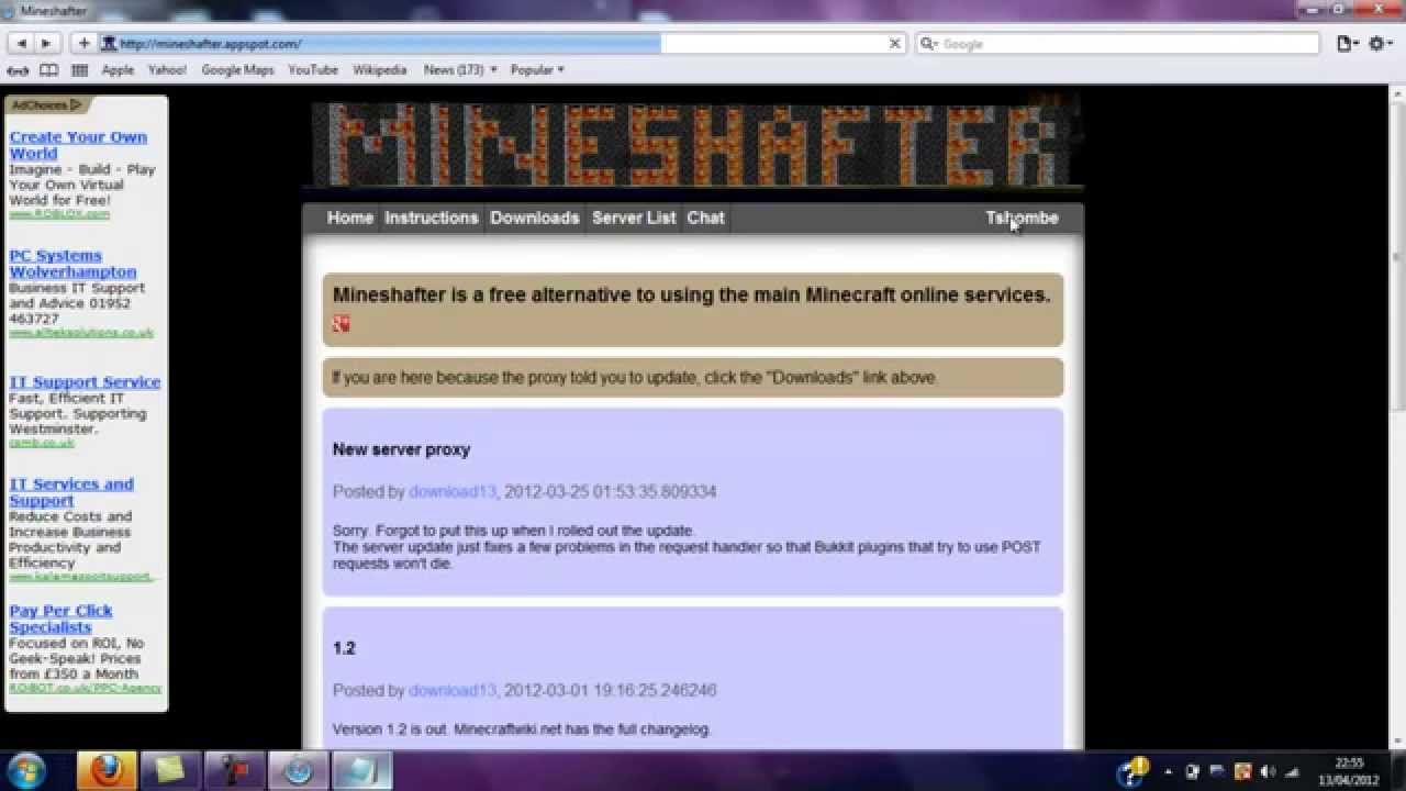 alt account list minecraft