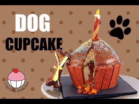 Dog cupcake  - Magazine cover