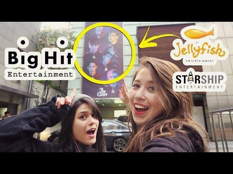 Visitando as empresas de KPOP na Coreia 2 - BIGHIT, JELLYFISH, STARSHIP