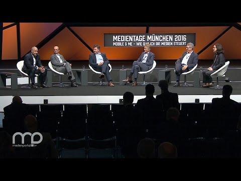Plattformgipfel der MEDIENTAGE MÜNCHEN 2016