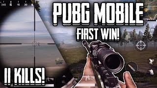 My first Win!!   PUBG Mobile DUO   Awm+M416   Lightspeed/Quantum