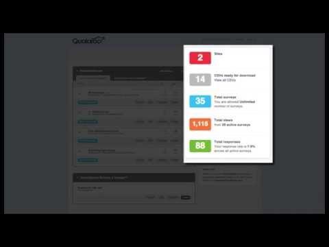 Understanding the Qualaroo Dashboard