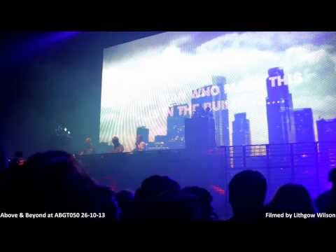 Above and Beyond at #ABGT050 Intro London 26-10-13