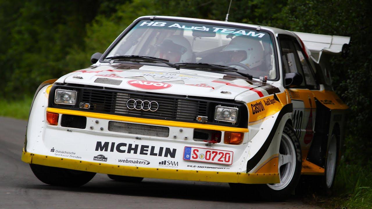 Walter Röhrl Audi