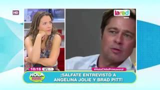 Salfate desclasificó secretos de Brad Pitt y Angelina Jolie
