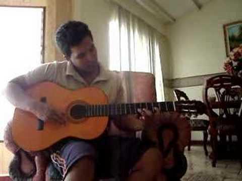 Dragon ball Gt intro en guitarra (punteo)