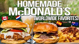 We Recreated ALL the Items on McDonald's International Menu! | SAM THE COOKING GUY 4K