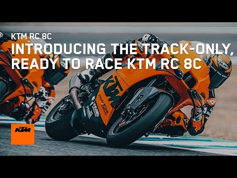 Introducing the track-only, READY TO RACE KTM RC 8C - KTM