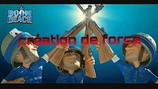 BOOM BEACH CREATION DE LA FORCE SPECIALE#1
