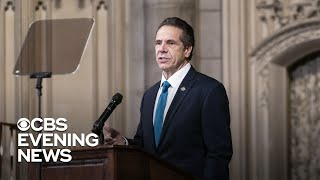 "Cuomo says ""there is no way I resign"" as top N.Y. leader calls for him to step down"