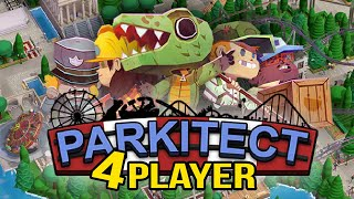 SCI-FI Land! - Parkitect (4 Person Co-Op!) #1