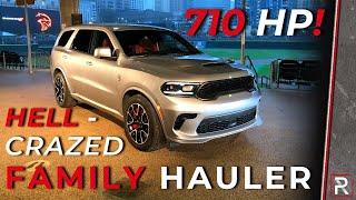 The 2021 Dodge Durango SRT Hellcat is the Fastest & Most Insane Family Hauler Ever