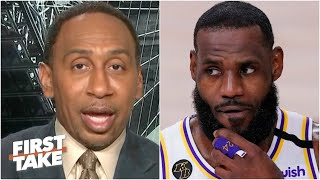 Stephen A. responds to Jamal Murray and says LeBron was let off the hook | First Take