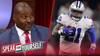 Jerry Jones is 'smart' for not fining Zeke during camp holdout — Wiley | NFL | SPEAK FOR YOURSELF