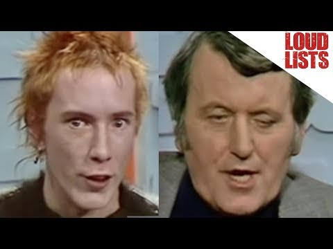 10 Times Johnny Rotten Outclassed Interviewers