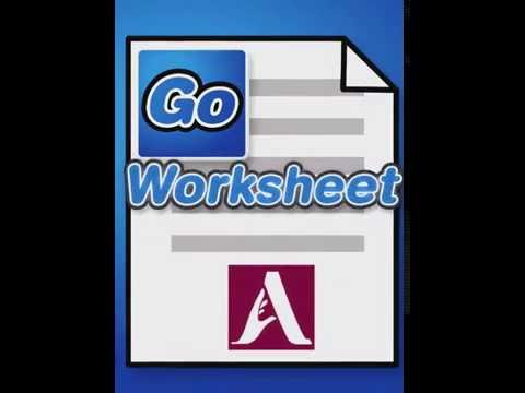 GoWorksheet: Hand-In