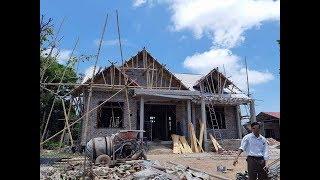 Thiết kế nhà cấp 4 mái thái hiện đại tại Nam Định giá rẻ