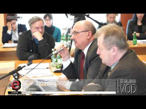 XXXIV sesja Rady Miejskiej Grudziądza