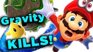 Super Mario Galaxy's DEADLY Physics! | The SCIENCE! ...of Super Mario Galaxy