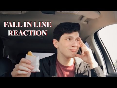 fall in line christina aguilera feat: demi lovato reaction
