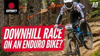 Can You Race Downhill On An Enduro Bike? | Neil Rides Garbanzo Downhill At Crankworx 2019