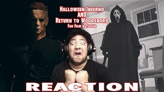 Halloween Inferno (Fan FIlm) & Return To Woodsboro Teaser REACTION