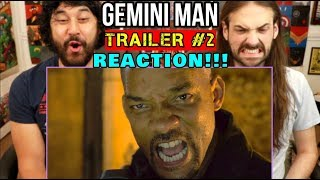 GEMINI MAN - TRAILER #2 | Will Smith | REACTION!!!
