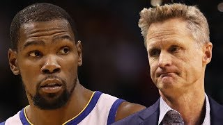 Kevin Durant CLAPS BACK On IG! Unhappy With Steve Kerr For Not Making Him Centerpiece Of Warriors