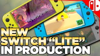 NEW Nintendo Switch Models IN PRODUCTION! The Nintendo Switch Lite!