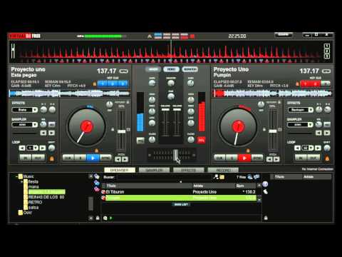 Retro Mix Ilegales vs Proyecto 1   Jesan Hernández Virtual DJ