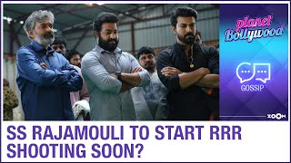 SS Rajamouli to resume RRR shooting post lockdown with soc..