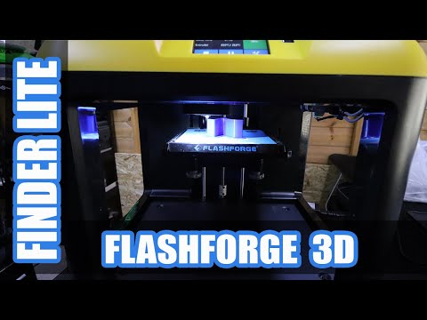 video FlashForge Finder Lite