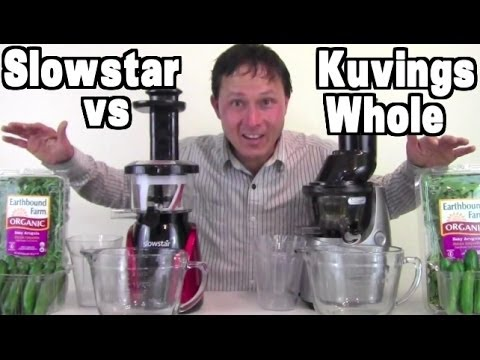 Kuvings Whole Slow Juicer vs Slowstar Comparison Review