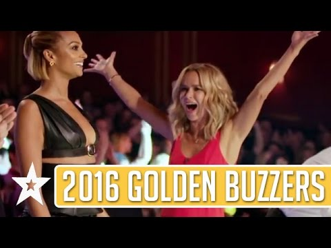 GOLDEN BUZZER Auditions On Britain's Got Talent 2016