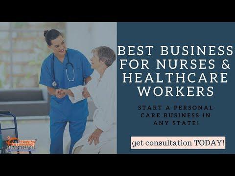 Best Business Venture For Nurses & Healthcare Professionals