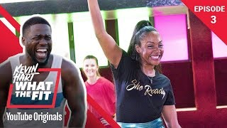 Roller Fitness with Tiffany Haddish | Kevin Hart: What The Fit Episode 3 | Laugh Out Loud Network