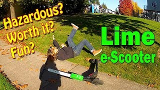 Lime S Electric e-Scooters Trial Period Tacoma 2018