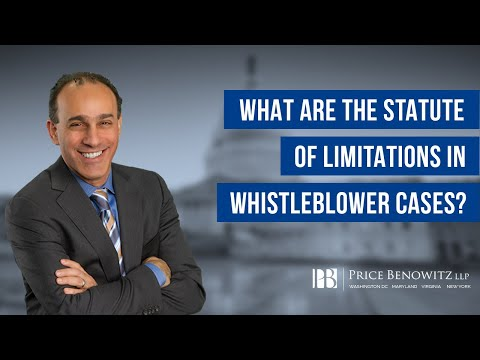 Whistleblower lawyer Tony Munter discusses important information you should know regarding the statue of limitations in Federal False Claims Act cases, as well as the statue of limitations in whistleblower retaliation cases. An experienced whistleblower lawyer can review the facts and circumstances of your particular matter, and work with you in formulating the strongest possible claim. Additionally, a whistleblower lawyer can help you understand what type of claim you may have, as well as how the statue of limitations applies to your case. Contact experienced whistleblower lawyer Tony Munter today.