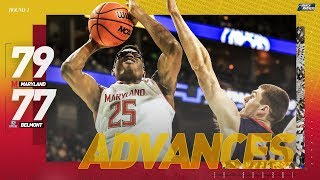 Maryland vs Belmont: First round NCAA tournament extended highlights