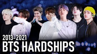 BTS HARDSHIPS 2013-2021 | Racism, mistreatment, accusations + more | Struggles throughout the years