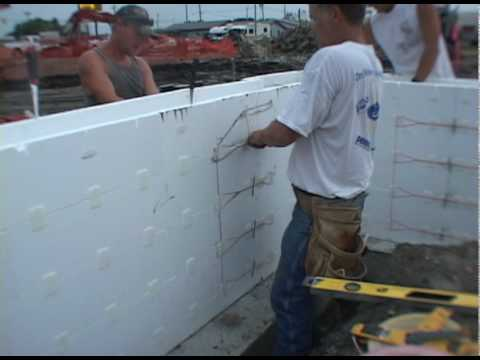 Lite Form Insulating Concrete Forms Fast Track To Frost