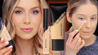 MORPHE FOUNDATION + CONCEALER REVIEW (NEW!)