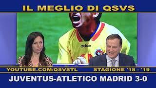 QSVS - I GOL DI JUVENTUS - ATLETICO MADRID 3-0  - TELELOMBARDIA / TOP CALCIO 24