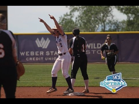 Weber State Wins Second Straight Big Sky Softball Title