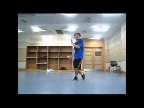 Carter Dance Practice - EXO-M - Lay, Xiumin & Greg (Maybe)