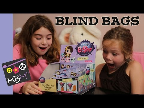 Littlest Pet Shop Blind Bags and Blythe Style Chic Set Toy Review